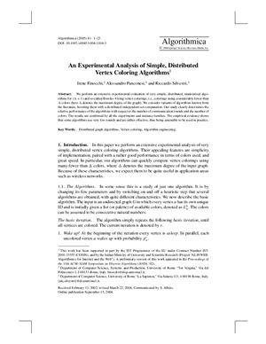 Algorithmica 2005 №41