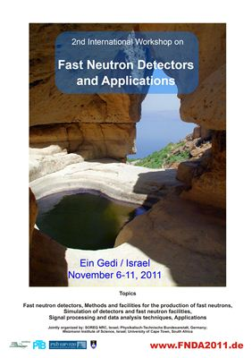 The 2nd International Workshop on Fast Neutron Detectors and Applications (FNDA 2011) Session Neutron Detection
