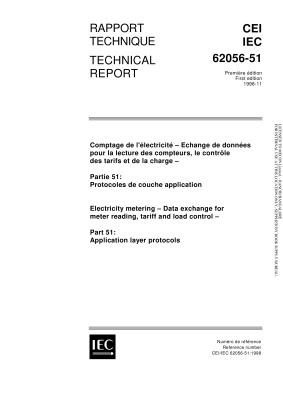 IEC TR 62056-51:1998 Application layer protocols