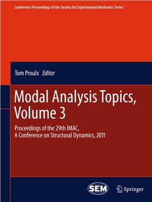 Proulx T. (ed.) Modal Analysis Topics, Volume 3