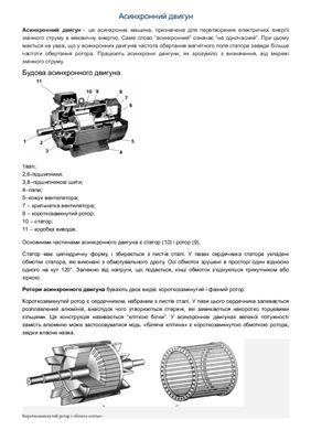 Асинхронный двигатель переменного тока