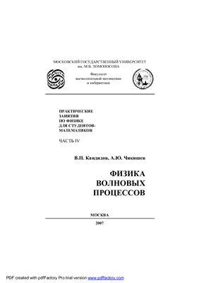 Кандидов В.П., Чикишев А.Ю. Физика волновых процессов