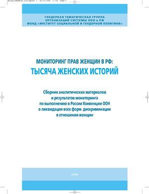 Мониторинг прав женщин в РФ