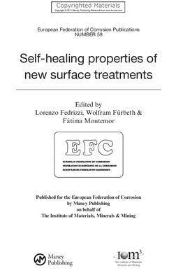 Fedrizzi L., F?rbeth W., Montemor F. (Eds.) Self-Healing Properties of New Surface Treatments