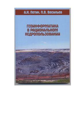 Петин А.Н., Васильев П.В. Геоинформатика в рациональном недропользовании