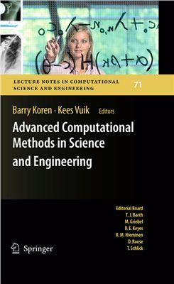 Koren B., Vuik K. (Editors) Advanced Computational Methods in Science and Engineering