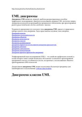 Методические указания - UML-диаграммы