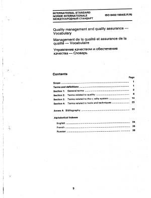 ISO 8402-1994 Управление качеством и обеспечение качества. Словарь