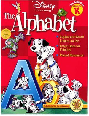 Disney Learning The Alphabet