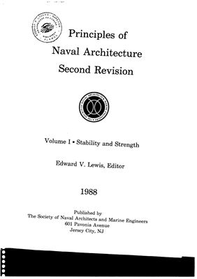 Principles of Naval Architecture I