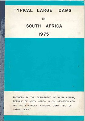 South African National Committee on Large Dams. Typical Large Dams in South Africa 1975