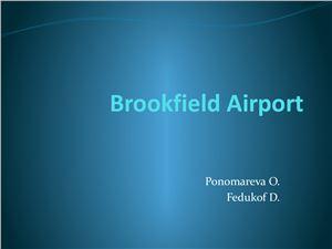 Brookfield Airport