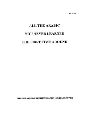 Price J.M. All the Arabic You Never Learned the First Time Around