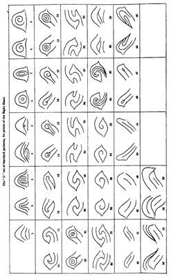 Galton F. Finger prints