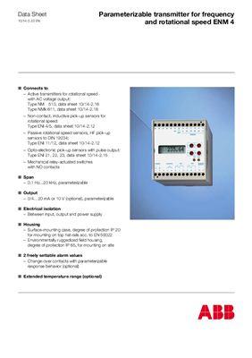Каталог - Контрольно-измерительные приборы от АВВ