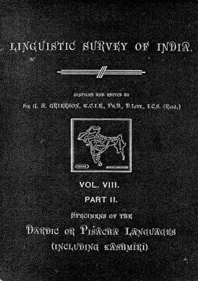 Grierson, George. Lingvistic survey of India, v.8 p.2
