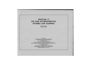 ИнтерКарто/ИнтерГИС 1996 Выпуск 02 ГИС для изучения и картографирования окружающей среды. Том 2