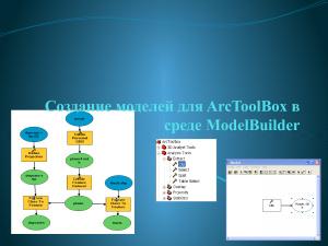 Создание моделей для ArcToolBox в среде ModelBuilder