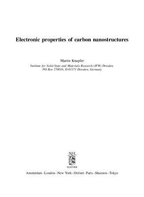 Knupfer М. Carbon nanostructures