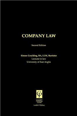 Goulding Simon, Company Law
