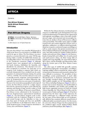 Elsevier Encyclopedia of Geology - vol I A-E