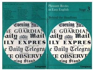 Thornley G.C. Behind the Headlines - Pleasant Books in easy English - Stage 3