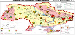 Природно-ресурсный потенциал Украины (ПРП Украины)