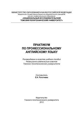 Роготнева Е.Н. Практикум по профессиональному английскому языку: Учебное пособие