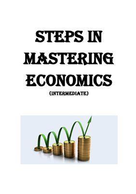 Процуто М.В., Маркушевская Л.П. Steps in mastering Economics (intermediate). (Изучаем экономику шаг за шагом (продвинутый уровень))