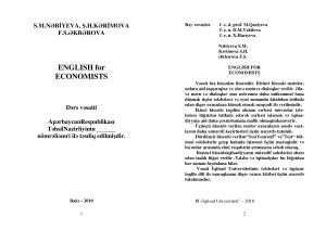 Nabieva S. English for Economists in Use