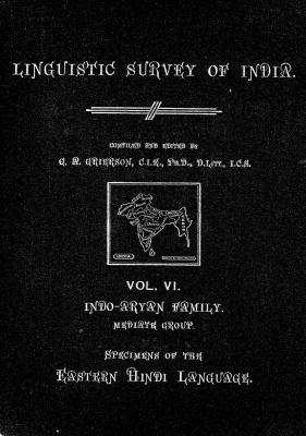 Grierson, George. Lingvistic survey of India, v.6