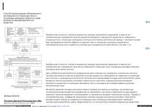 Патент РФ на изобретение 2487347. Способ подтверждения обнаруженного на поверхности сгорающих гильз и сгорающих цилиндров дефекта в виде выкристаллизации взрывчатого вещества (RU)
