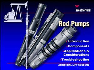Weatherford 2011 sucker rod pump catalog