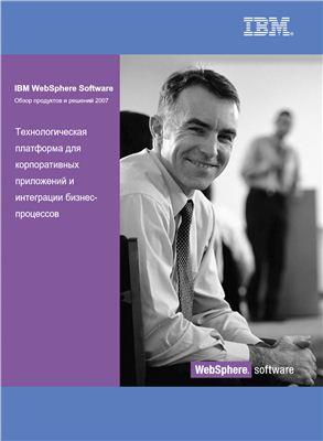 Обзор продуктов IBM WebSphere Software