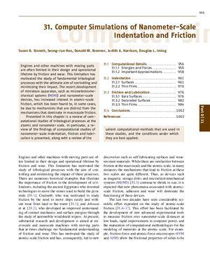 Bhushan B. Handbook of Nanotechnology (часть 2)