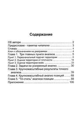 Тё Тикун. Позиционный анализ