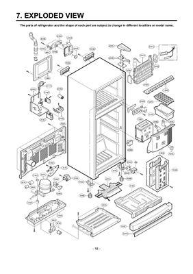 Холодильник LG-GR312