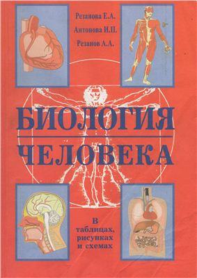 Резанова Е.А., Антонова И.П., Резанов А.А., Биология человека. В таблицах и схемах