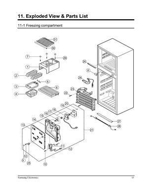 Холодильник SAMSUNG SR-42/43 SR-38/39