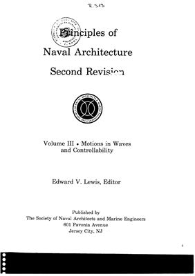 Principles of Naval Architecture III
