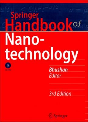 Bhushan B. Handbook of Nanotechnology (часть 1)
