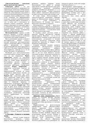Шпора - Социальная работа