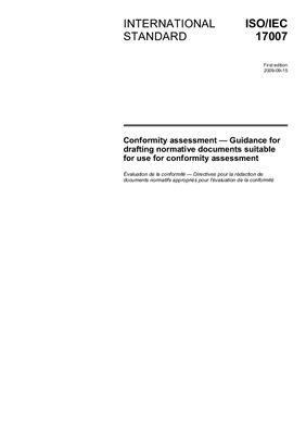 ISO/IEC 17007: 2009