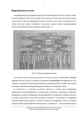 Красов А.В. Теория информационных процессов и систем