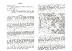 Текст по страноведению на английском языке (Канада)