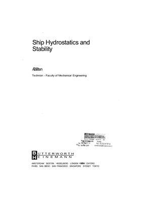 Biran A.B., Ship hydrostatics and stability