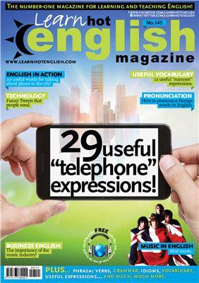 Hot English Magazine 2014 №145