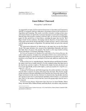 Algorithmica 2005 №42