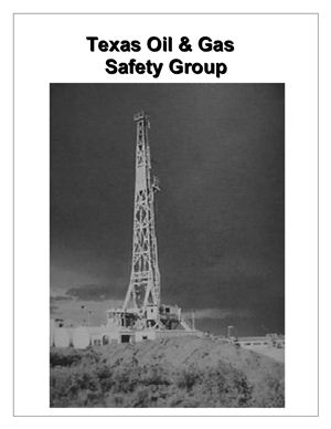 Safety system and plan in oil production - sample program