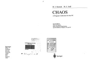 Korsch H.J., Jodl H.-J. Chaos: A Program Collection for the PC; with many numerical experiments